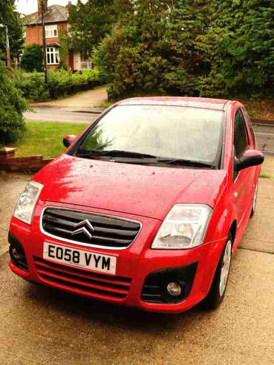 Citroen C2 VTR. Citroen car from United Kingdom