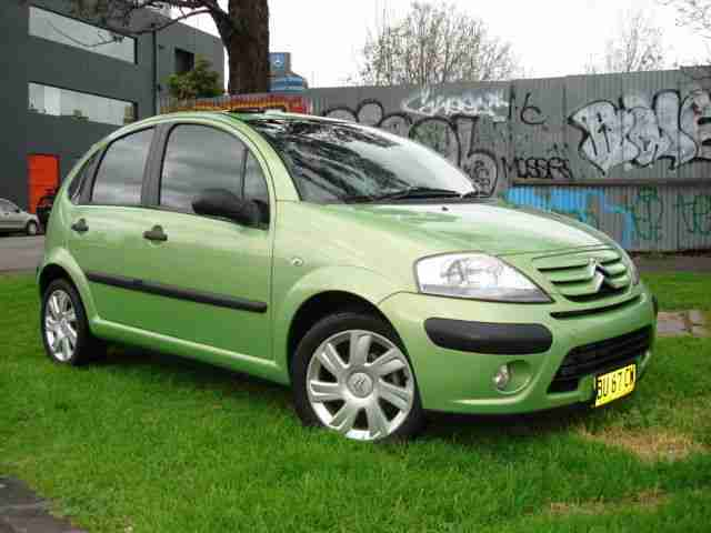 citroen c3 hatchback 2007 manual sunroof alloys vic rwc airbags car for sale. Black Bedroom Furniture Sets. Home Design Ideas