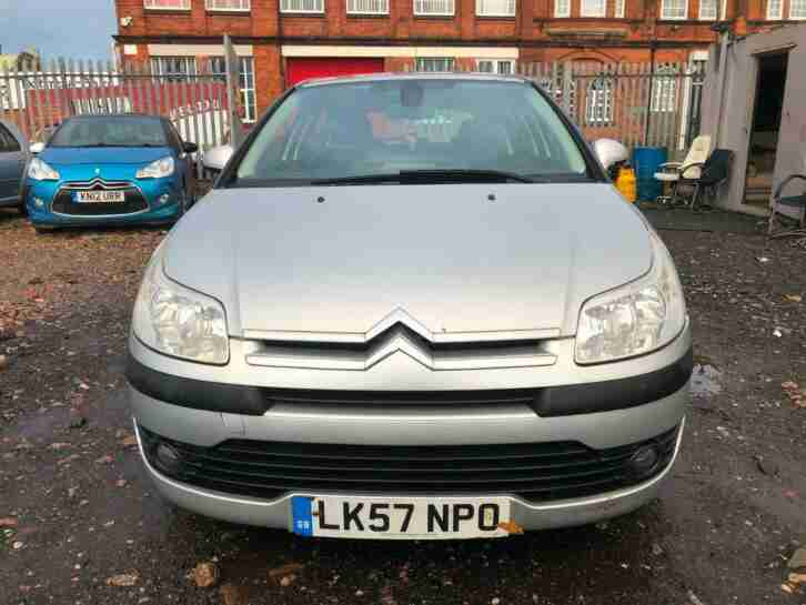 Citroen C4 1.6i. Citroen car from United Kingdom
