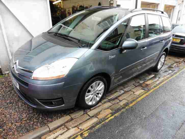 Citroen C4 Grand Picasso VTR Plus HDi manual 7 seats DIESEL MANUAL 2009 59