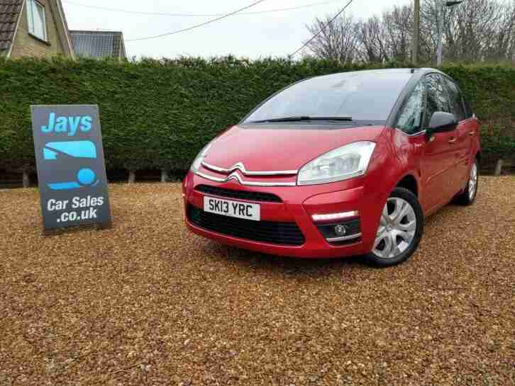 Citroen C4 Picasso 1.6e-HDi ( 110bhp ) Airdream EGS6 Platinum ((( 360 VIDEO )))