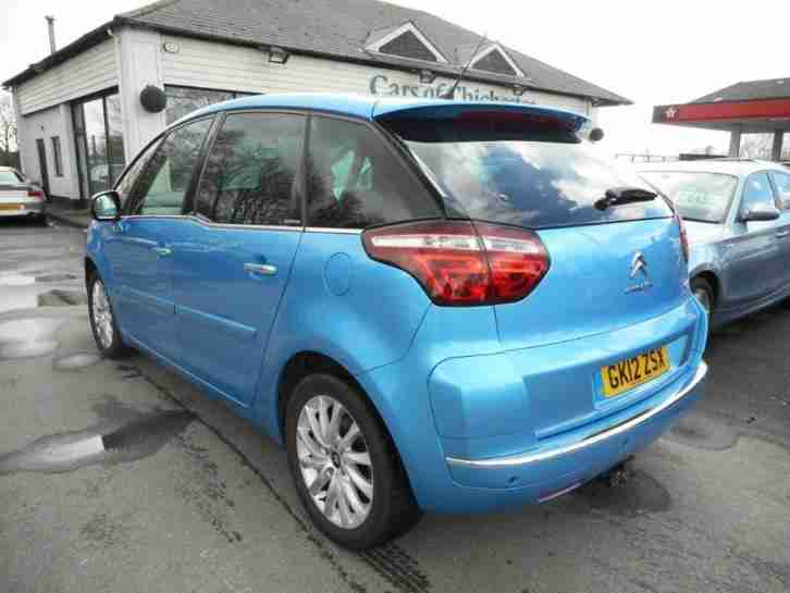 citroen c4 picasso exclusive 2 0 hdi egs automatic 62mpg diesel 2012. Black Bedroom Furniture Sets. Home Design Ideas