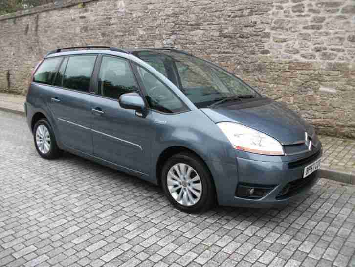 citroen c4 picasso hdi vtr turbo diesel mpv 7 seater card. Black Bedroom Furniture Sets. Home Design Ideas