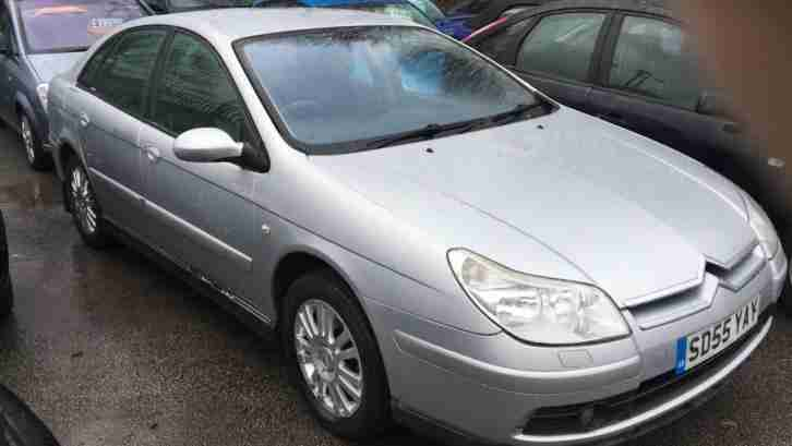 Citroen C5 1.8. Citroen car from United Kingdom