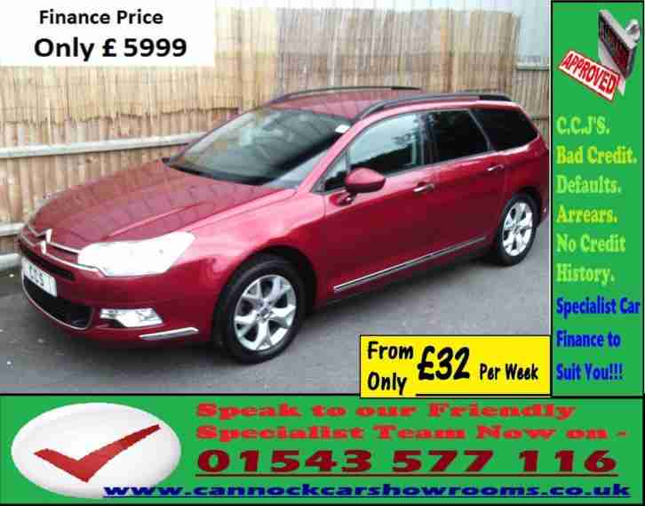 Citroen C5 2.0i. Citroen car from United Kingdom