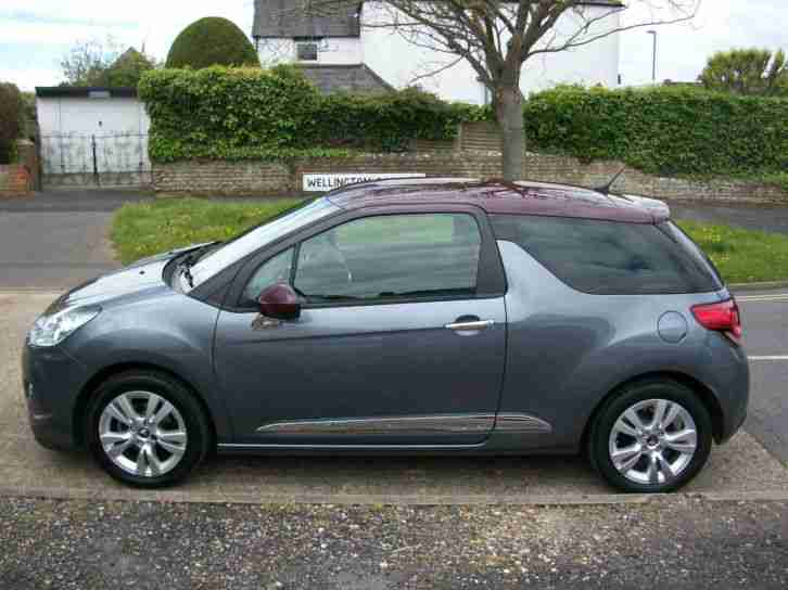 citroen ds3 1 6 vti 120bhp automatic dstyle car for sale. Black Bedroom Furniture Sets. Home Design Ideas