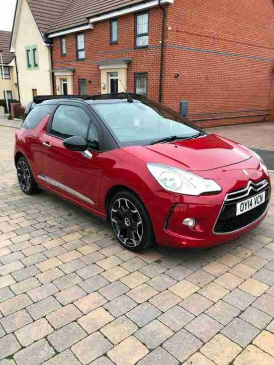 Citroen DS3 Cabrio 1.6 ( 118bhp ) DStyle Plus