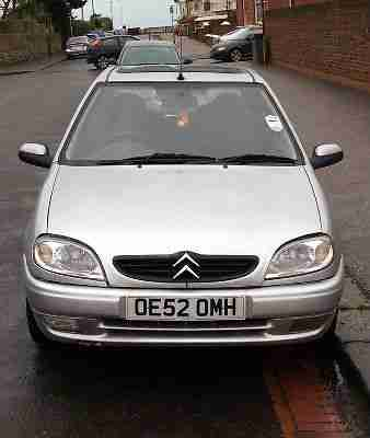 Citroen Saxo 1.1i Desire 2 / 3 dr 2003 hatchback silver learner car economical