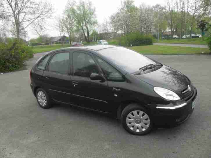 citroen xsara picasso 1 6 vtx hdi diesel 2008 08 reg car. Black Bedroom Furniture Sets. Home Design Ideas