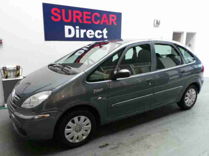 citroen xsara picasso 1 6hdi vtx with new mot and service car for sale. Black Bedroom Furniture Sets. Home Design Ideas