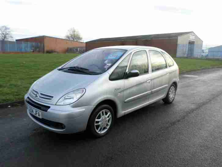 Citroen Xsara Picasso. Citroen car from United Kingdom
