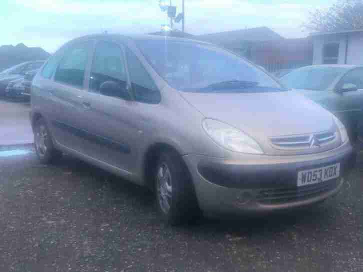 Citroen Xsara Picasso 1.8i 16v 2003MY SX LONG MOT EXCELLENT RUNNER
