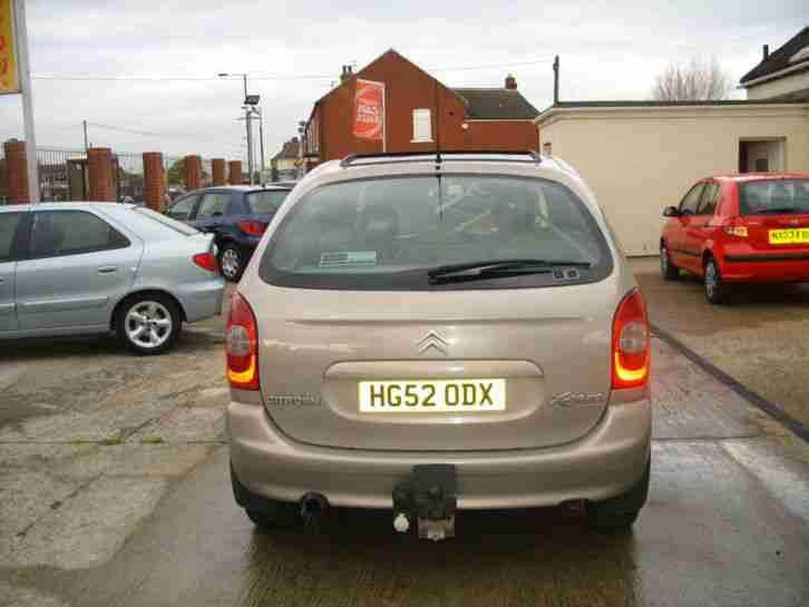 citroen xsara picasso 2 0hdi 90hp 2002my exclusive car for sale. Black Bedroom Furniture Sets. Home Design Ideas