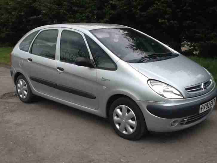 citroen xsara picasso 2 0hdi 90hp 2002my sx superb car for sale. Black Bedroom Furniture Sets. Home Design Ideas