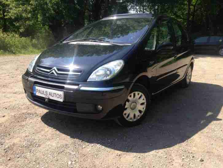 citroen xsara picasso desire 1 6 hdi 12 months mot black car for sale. Black Bedroom Furniture Sets. Home Design Ideas