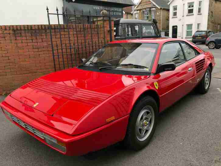 Ferrari Classic Mondial. Ferrari car from United Kingdom