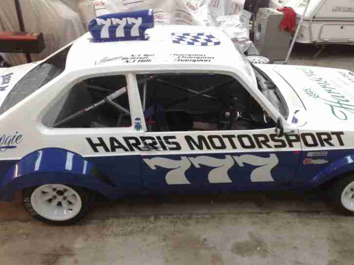 Classic Hot Rod / Race car/ Ford MK2 Escort