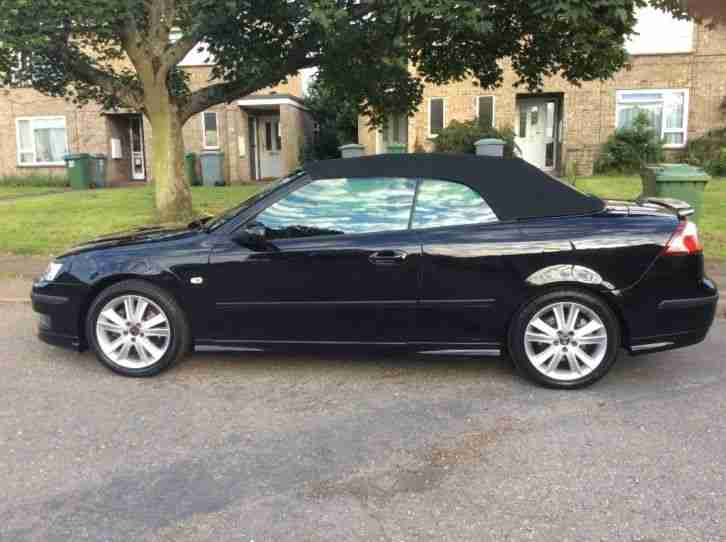 Convertible Saab 93 aero anniversary edition 2007 low mileage