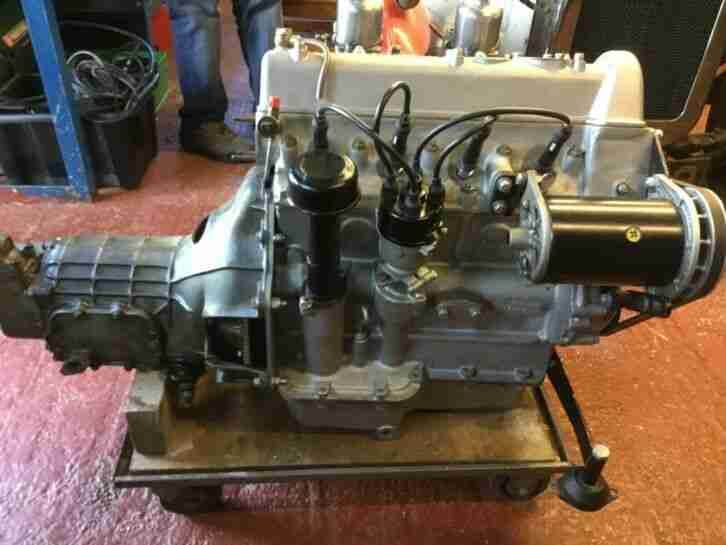 Coventry Climax FWB 1500cc Engine and Gearbox