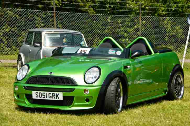 Mini Cooper Sports Car Convertible
