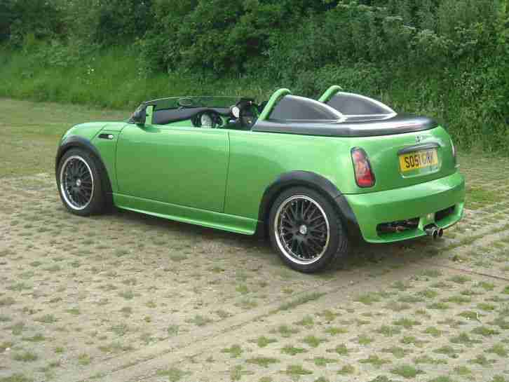 Custom Vehicle Roof : Mini custom one off speedster project show car roof chop