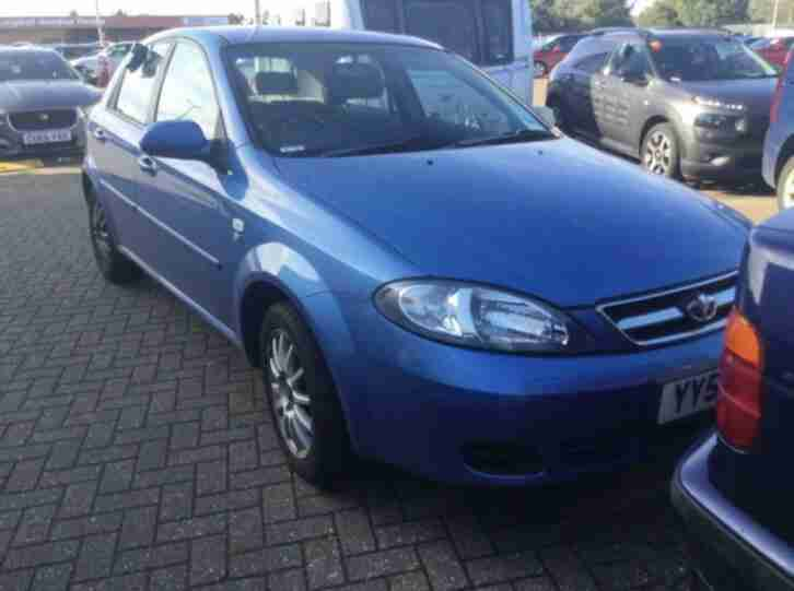 DAEWOO LACETTI 1.6 AUTOMATIC SX, WOW ONLY 33K MILES + 1 OWNER FROM NEW + FSH