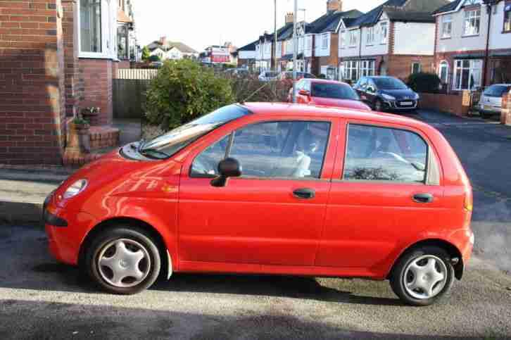 Daewoo MATIZ 1999 RED. car for sale