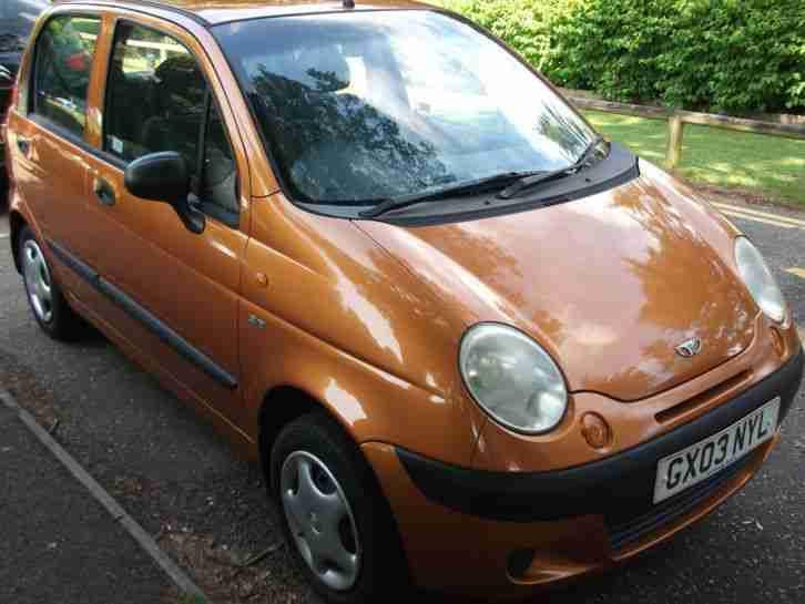 Daewoo MATIZ 2003 BARGAIN. car for sale