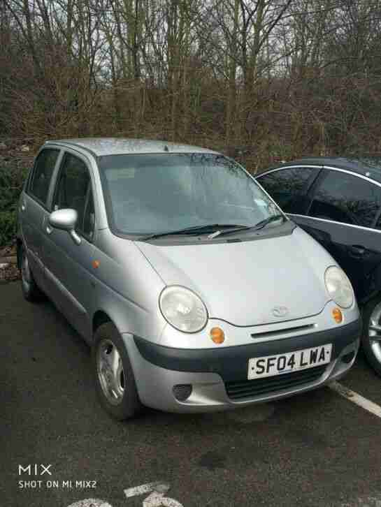 DAEWOO MATIZ 2004 FULL 12 MONTH MOT JUST DONE, SERVICE HISTORY 85K HPI CLEAR