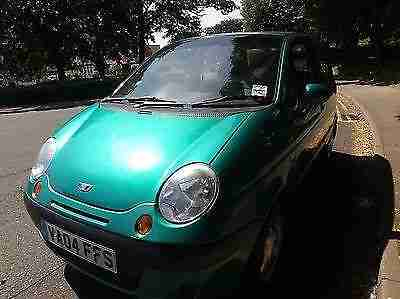 DAEWOO MATIZ 800CC S+ 2004 Petrol Manual in Green
