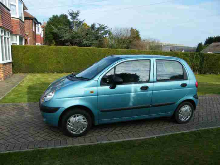 MATIZ BLUE 2004 Low Milage