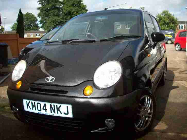 Daewoo MATIZ , FLIRT , 2004 ,BLACK , MOT JULY 2017,,,,,,, £450. car