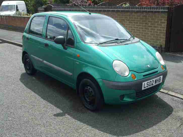 MATIZ SE, 2002, ONE FAMILY OWNER, VERY