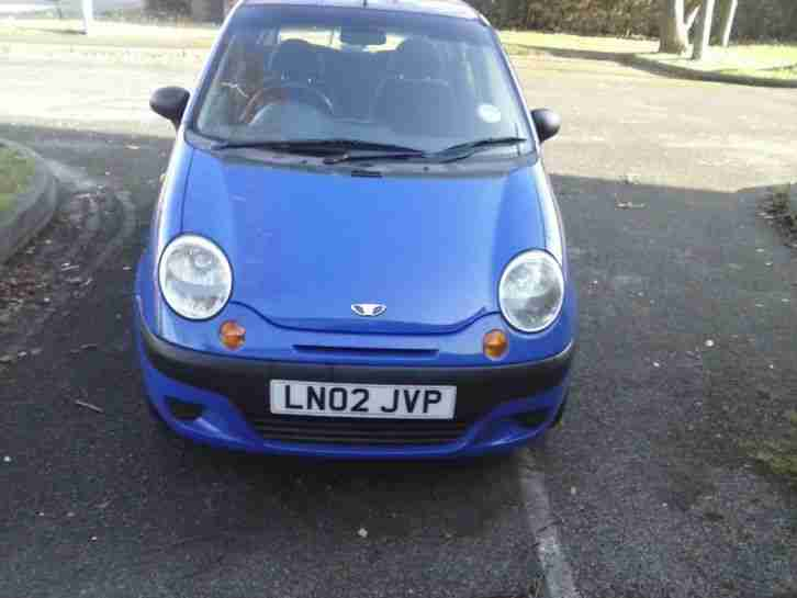DAEWOO MATIZ SE BLUE QUICK SALE NEEDED