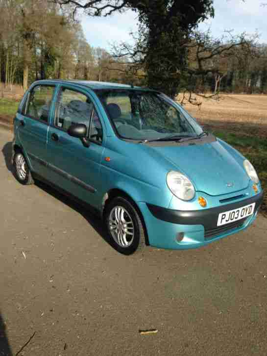 Daewoo Matiz Xtra Blue 2003 Pex Swap Why Car For Sale