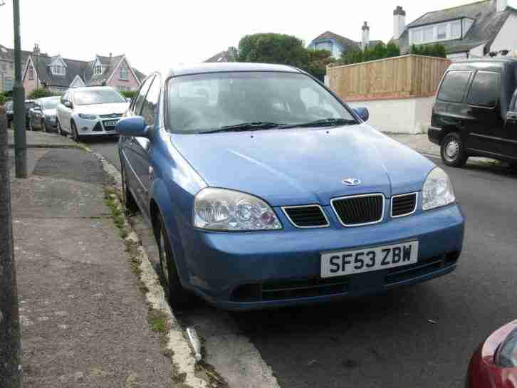 NUBIRA 1.6 4 DOOR 2003 FULL MOT