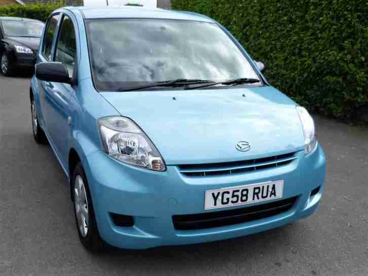 Daihatsu 998CC SIRION. Daihatsu car from United Kingdom