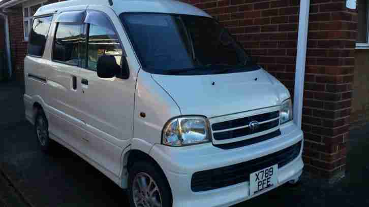 DAIHATSU ATRAI 7 SAME AS TOYOTA SPARKY 7 SEATER DAY VAN RARE MANUAL £3695