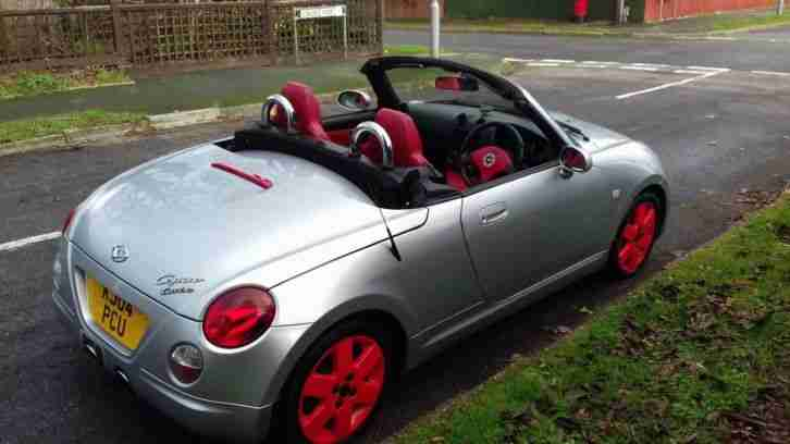 DAIHATSU COPEN CONVERTIBLE. SERVICE HISTORY. MOT. OCTOBER 2019. LOVELY CONDITION