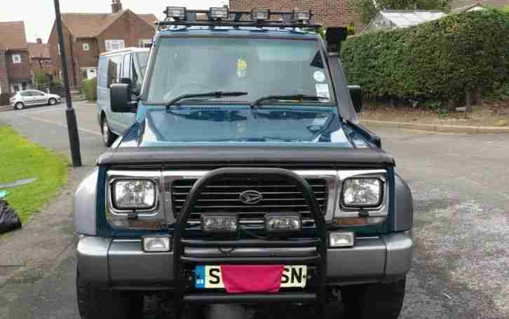 DAIHATSU FOURTRAK 1998 RIVIERA 2.8TD WITH EXTRAS