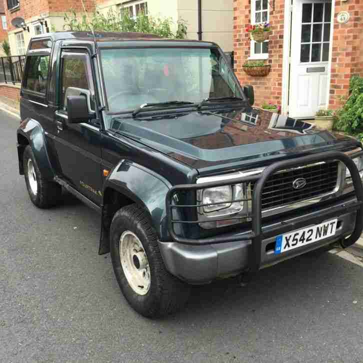 Used Daihatsu Rocky For Sale: Daihatsu FOURTRAK 2.8TDL LIMITED. Car For Sale