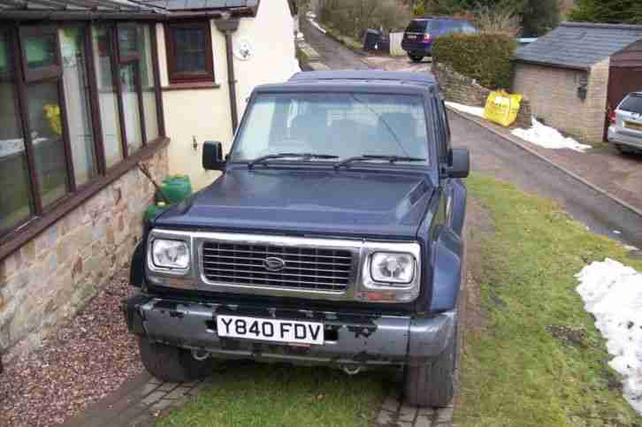 DAIHATSU FOURTRAK DL 4X4 SPARES & REPAIRS