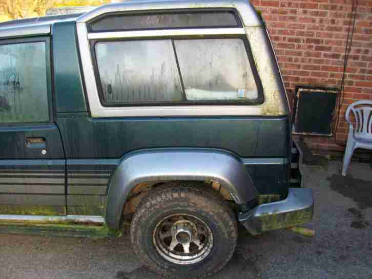 DAIHATSU FOURTRAK INDEPENDENT TDX GREEN/GREY BARN FIND OFF ROAD SPARES REPAIR