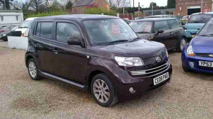 Daihatsu MATERIA 16V. Daihatsu car from United Kingdom