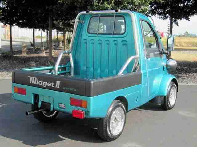 Seldom.. possible Daihatsu midget wheelbase accept