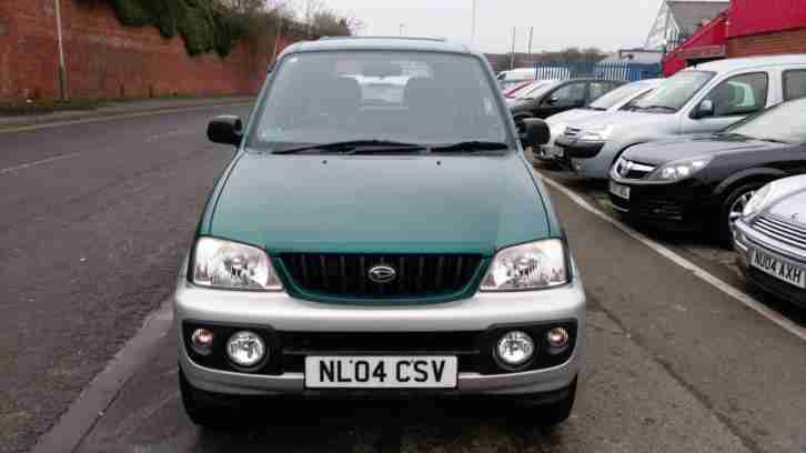 DAIHATSU TERIOS 1.3 SPORT 4WD OPTION LOW MILES.3 KEYS LOVELY ALLOYS. 2004 04