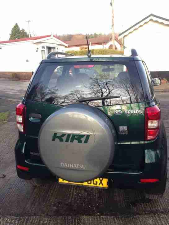 DAIHATSU TERIOS *KIRI* 2008 1500cc 4WD 5 DOOR 1 PREVIOUS OWNER DARK GREEN