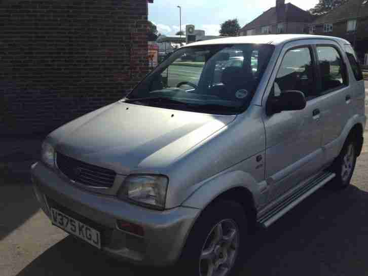 Daihatsu TERIOS+ LIMITED. Daihatsu car from United Kingdom