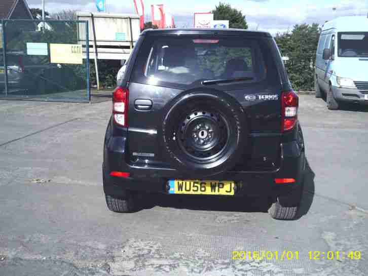 DAIHATSU TERIOS S 1.5L PETROL MANUAL IN BLACK ( WU56 WPJ )