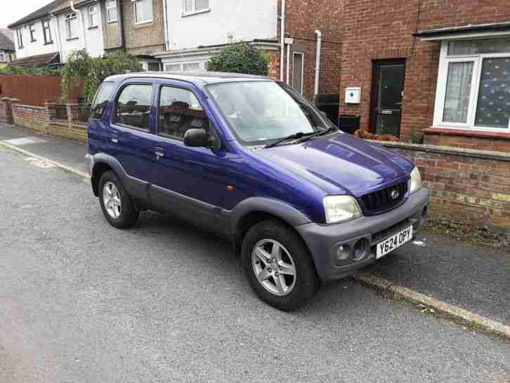 DAIHATSU TERIOS, SPARES OR REPAIRS